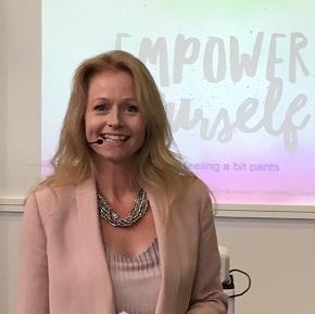 Jess Baker psychologist speaker
