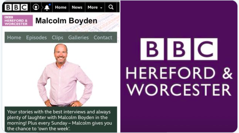 BBC Radio Interview – Malcolm Boyden