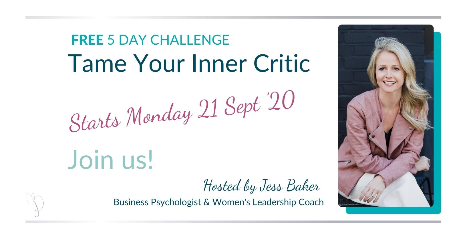 TAME YOUR INNER CRITIC JESS BAKER